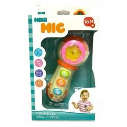 Mini microfon cu sunete si lumini