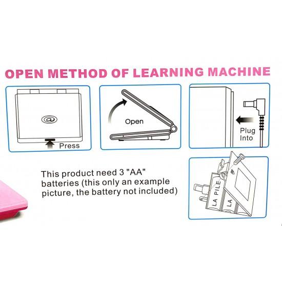 Laptop de jucarie Learning Machine Albastru