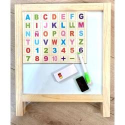 Tabla educativa de scris magnetica Medie