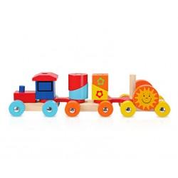 Trenulet de stivuire cu forme