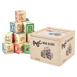 Set 48 de cuburi ABC litere ,cifre si simboluri
