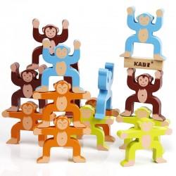 Maimute in echilibru Joc Montessori