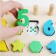 Logarithmic Cifre si Forme din lemn