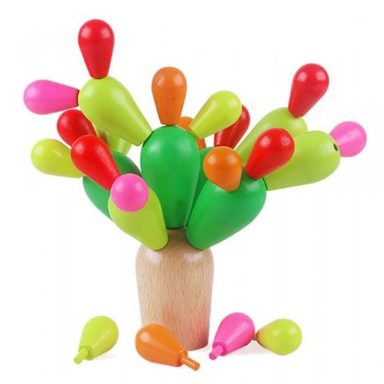 Montessori Cactus Joc de echilibru