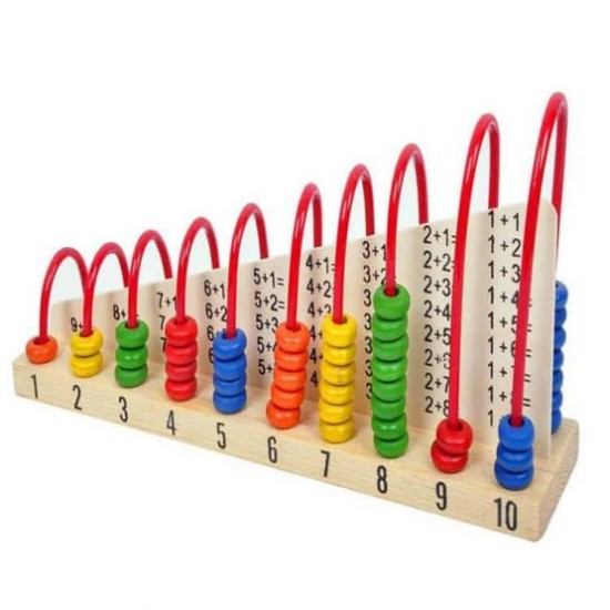 Abac cu operatii matematice din lemn