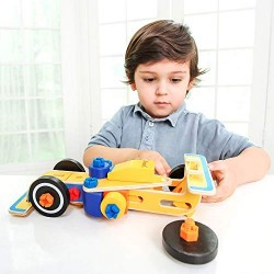 Masinuta din lemn de asamblat Formula 1 -  diferite modele iWood