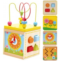 Cub educativ Montessori 5 in 1 Kabi