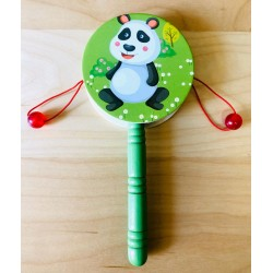 Toba De Mana Din Lemn Urs Panda