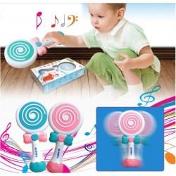 Acadea cu sunete si lumini Lollipop Bleu