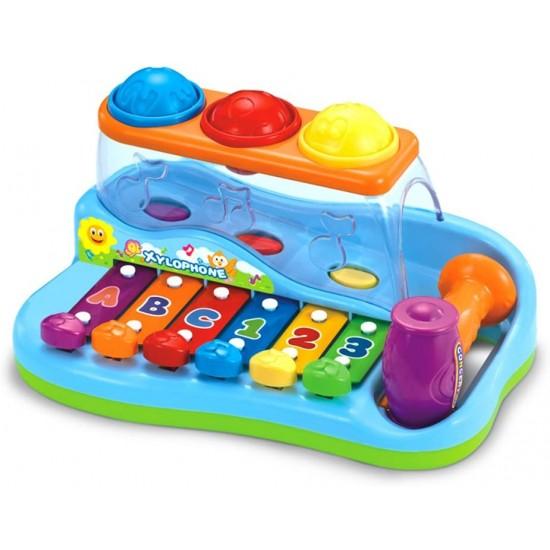 Jucarie pentru bebelusi - Xilofon interactiv Hola