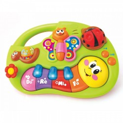 Omida muzicala - mini-orga pentru bebelusi Hola