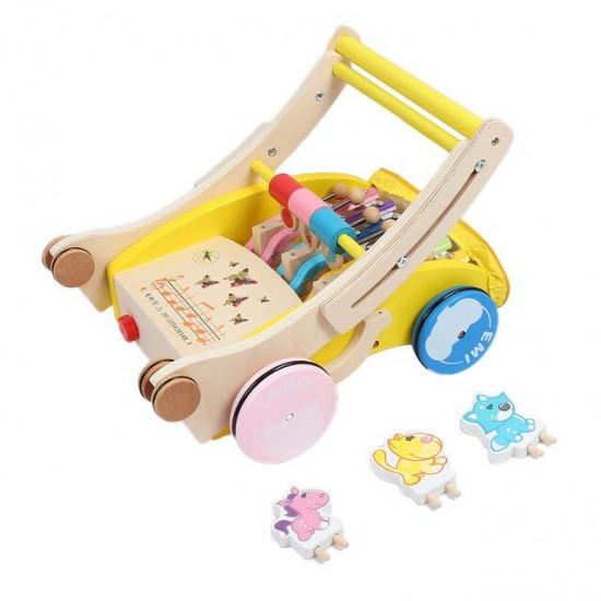 Antemergator din lemn cu xilofon