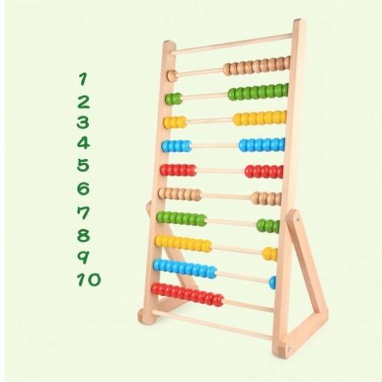 Abac Mare din Lemn - 90 cm