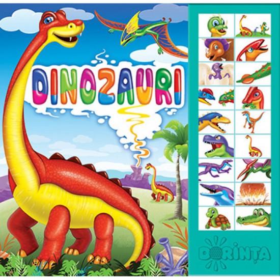 Carte cu sunete - Dinozauri