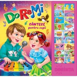 Carte cu sunete - Do-re-mi cantece pentru copii