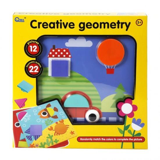 Joc cu forme geometrice Creative Geometry