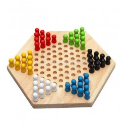 Joc cu Pioni Colorati Checkers Games
