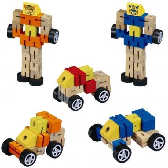 Robot din lemn Transformers