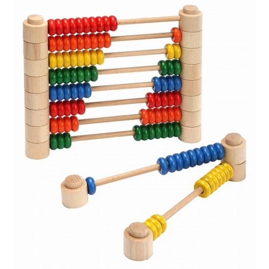 Abac modular colorat Montessori