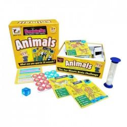 Joc educativ de cunostinte in limba Engleza despre Animale