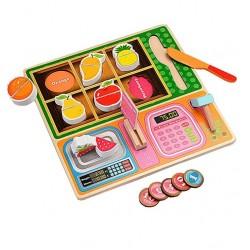 Joc de rol Mini magazin cu fructe