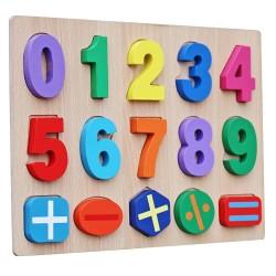 Puzzle 3D Operatiuni Matematice