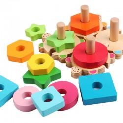 Joc de sortare cu forme puzzle Broscute