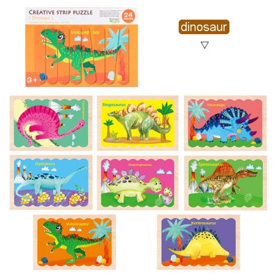 Set Puzzle de potrivire bete