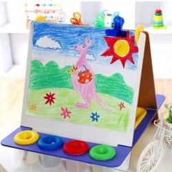 Tabla multifunctionala de scris si pictat pentru copii