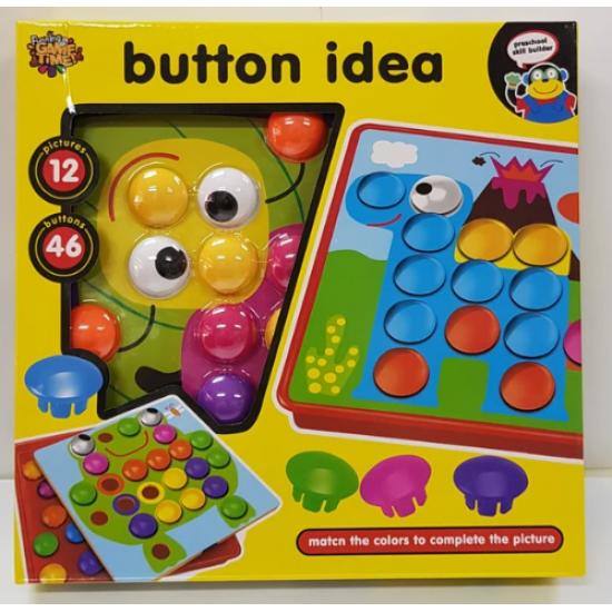 Joc De Creatie Mozaic BUTTON IDEA - Furnica