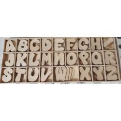 Litere din lemn de la A- Z craft