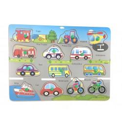 Puzzle 13 Vehicule color