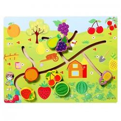 Puzzle Labirint cu Fructe 3D