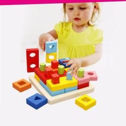 Sortator forme geometrice Montessori