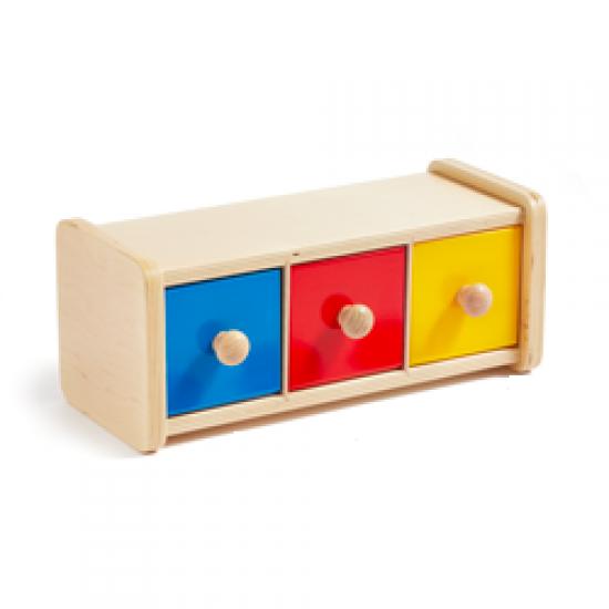Cutia Montessori cu bile