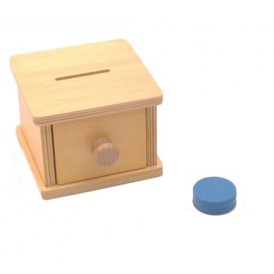 Cutia cu monede Montessori
