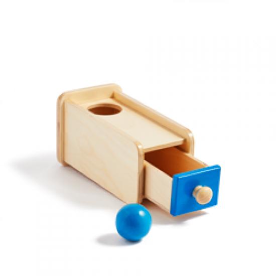 Cutia de permanență a obiectului Montessori