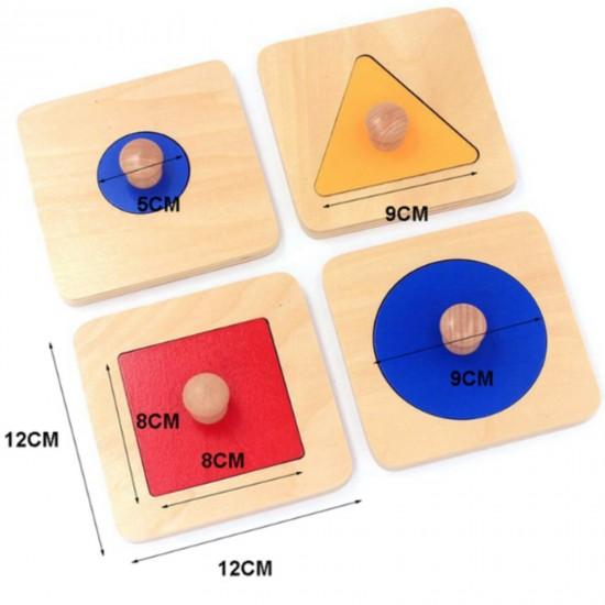 Primul Puzzle Montessori  din lemn
