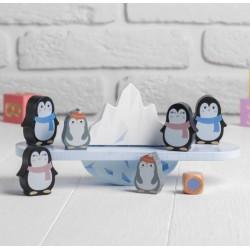 Joc de echilibru, Balanta din lemn Pinguinii Kabi