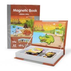 Carte magnetica animale din jungla