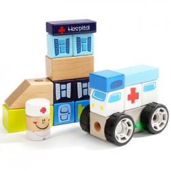 Set de constructie - Spitalul Topbright