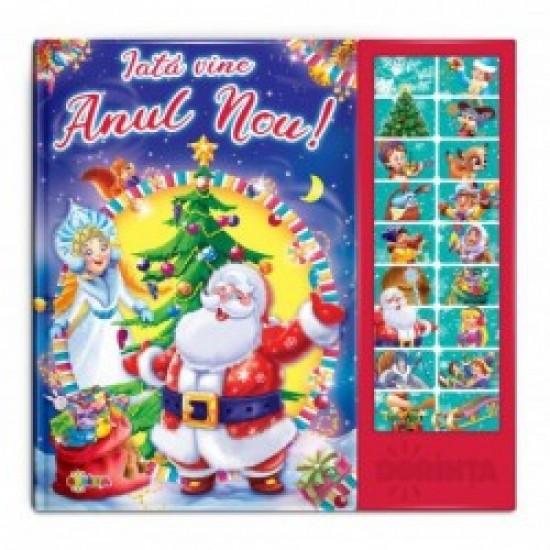 Carte cu sunete - Iata vine Anul-Nou!