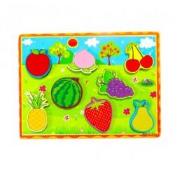 Puzzle 3D Fructe
