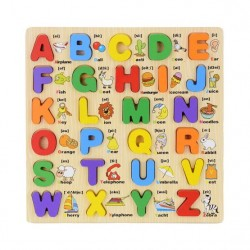 Puzzle Alfabet Incastru in limba Engleza