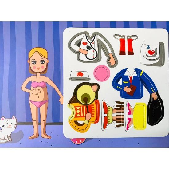 Carte Magnetica Imbraca fetita