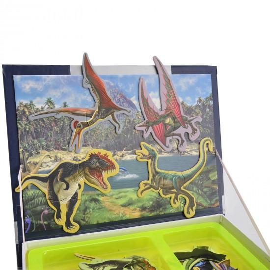 Carte magnetica Dinozauri