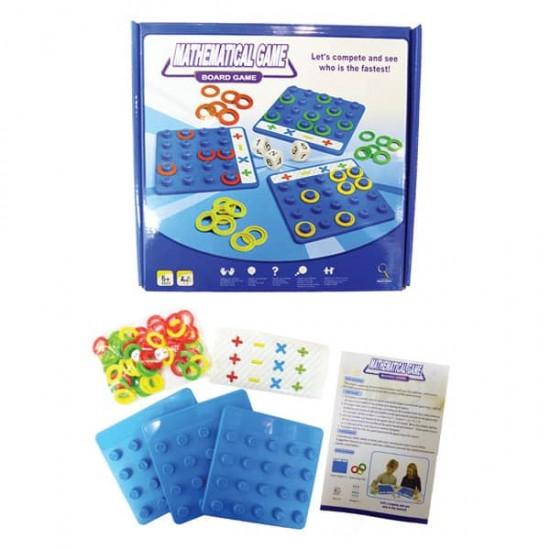 Joc de învățare matematică Joc de familie