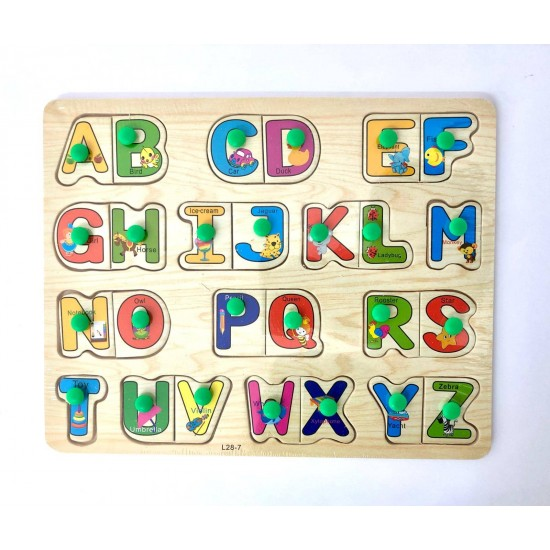 Puzzle Alfabet incastru