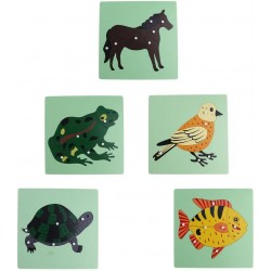 Puzzle Montessori - Zoologie