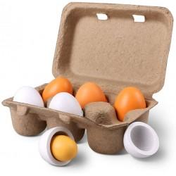 Cofraj 6 oua Joc din lemn Montessori